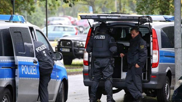 Contingente policial por una amenaza de bomba en el este de Alemania