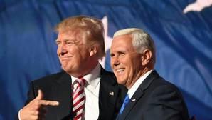Pence, que se presenta junto a Trump, se declara «ofendido» por sus palabras sobre las mujeres