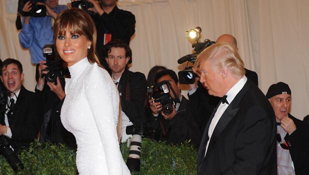 Donald Trump y su mujer, Melania Trump, en una fotografía de archivo