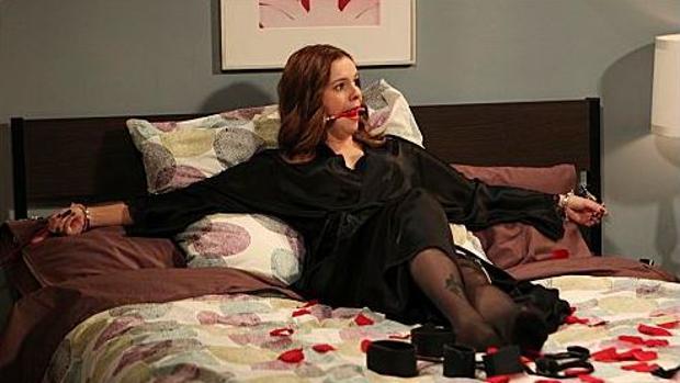 Amber Tamblyn en la serie «Dos hombres y medio»