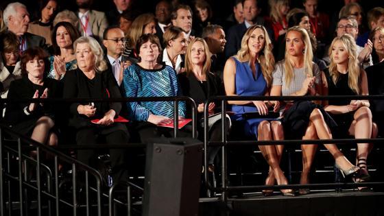 Las mujeres que acusan a Bill Clinton de acoso sexual aparecen en la parte izquierda de la imagen