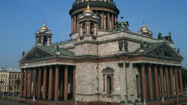 Imagen de la Catedral de Isaac en San Petersburgo