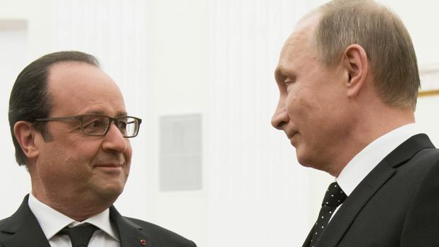 El presidente de Francia, François Hollande, ha vistovetada su intento de resolución sobre Siria
