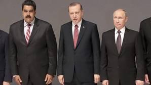 Maduro se esfuerza en sumarse a la alianza de Putin y Erdogan