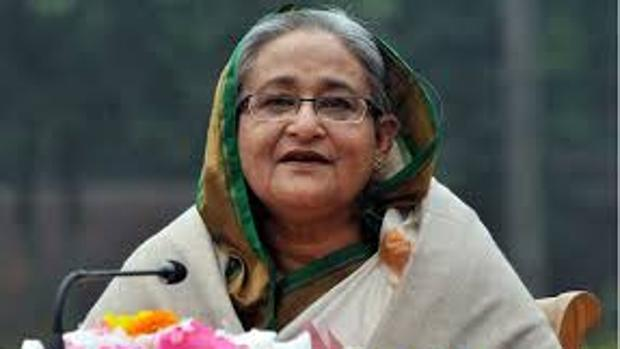 La primera ministra Sheikh Hasina