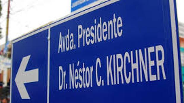 No me llames Kirchner