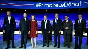 Juppé se impone a Sarkozy en el primer debate de las primarias