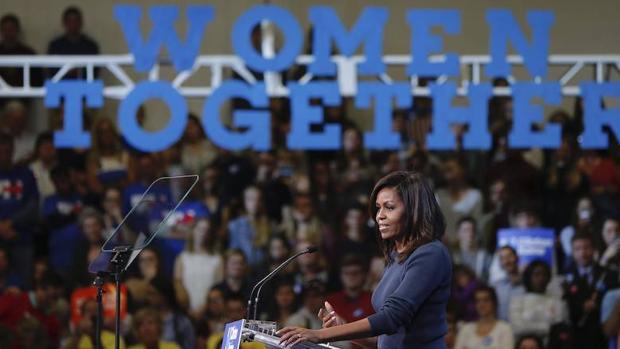 La primera dama estadounidense, Michelle Obama