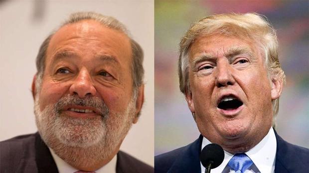 Trump, también en guerra con el empresario Carlos Slim
