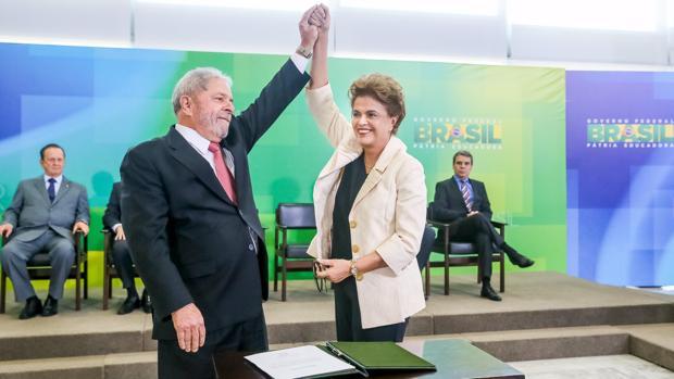 Lula y Dilma Rousseff, en una imagen de archivo