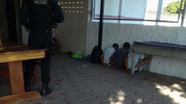 Reos de la Penitenciaría Agrícola de Monte Cristo, en el estado amazónico de Roraima, donde este domingo se produjo un choque entre bandas rivales