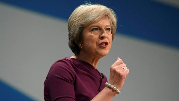 La primera ministro de Reino Unido, Theresa May