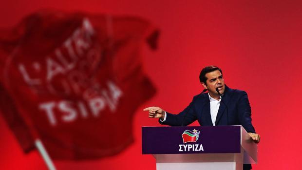 Tsipras, ante el congreso de Syriza
