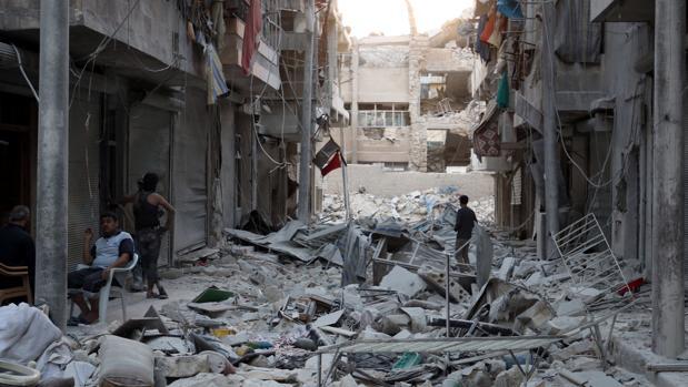 Según la ONU los bombardeos ya han costado la vida a más de 400 personas y heridas a 1.400