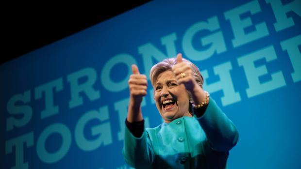 Hillary Clinton, durante un acto de recaudación de fondos el pasado fin de semana en Seattle