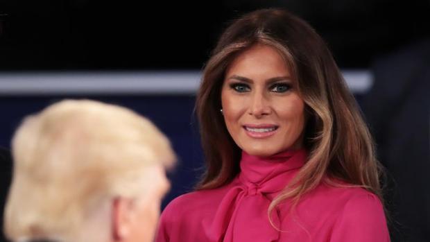 Fotografía de Melania Trump, esposa de Donald Trump