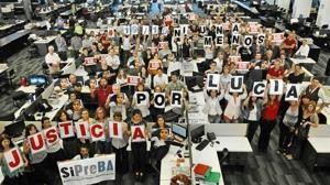 Miles de argentinos se echan a la calle y piden justicia por el brutal asesinato de Lucía Pérez