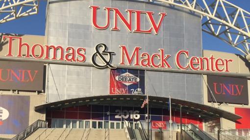 Imagen de la sede de Las Vegas donde tendrá lugar el debate