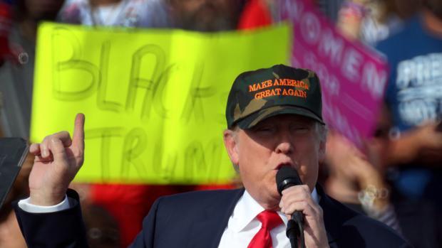 Donald Trump ha endurecido su discurso en la recta final de la campaña