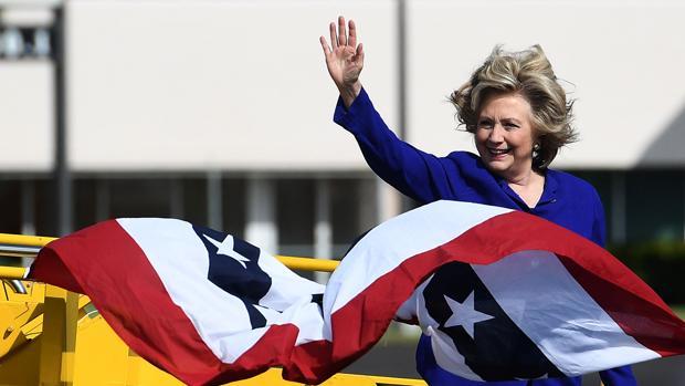 La candidata demócrata a la presidencia de Estados Unidos, Hillary Clinton