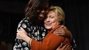 Michelle Obama y Hillary Clinton: amigas, pero no de siempre