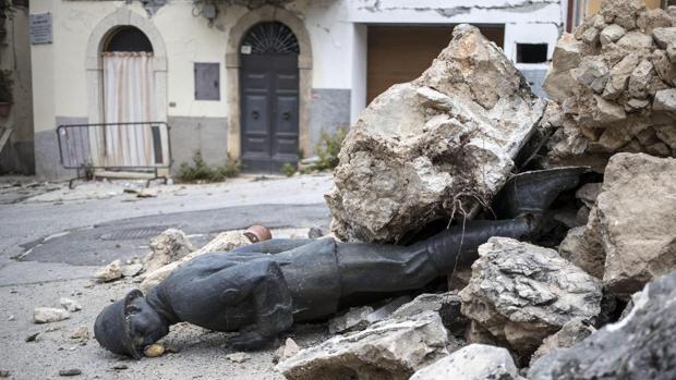 Las consecuencias de los movimientos sísmicos en Italia