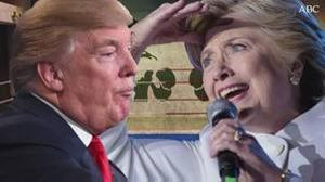 Trump vs. Clinton en cinco asaltos