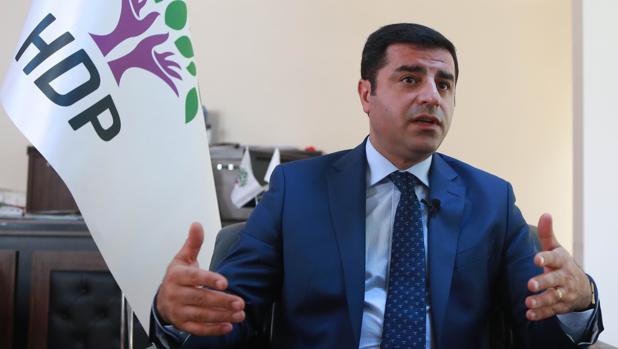 Selahattin Demirtas, durante una entrevista, el pasado mes de julio