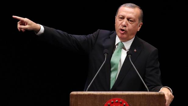 El presidente turco Recep Tayyip Erdogan en una ceremonia celebrada en Ankara el pasado 3 de noviembre