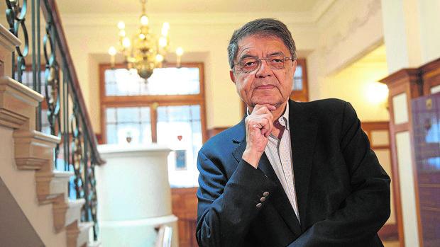 El escritor y exvicepresidente de Nicaragua, Sergio Ramírez, el pasado año en Santander