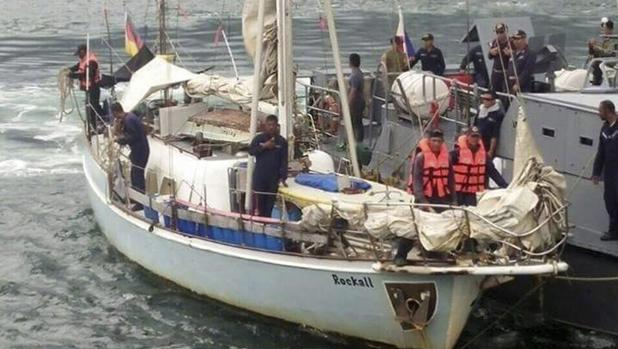 La embarcación en la que se ha hallado el cadáver