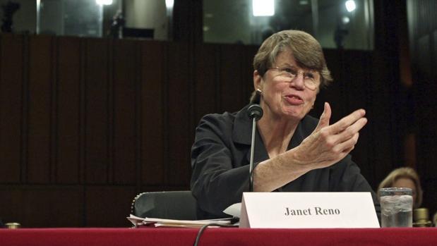 Janet Reno ocupó el cargo de fiscal general de EE.UU. durante casi ocho años