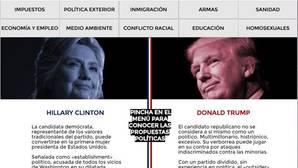 Los «donde dije digo, digo Diego» de Hillary y Trump, los candidatos más odiados en EE.UU.