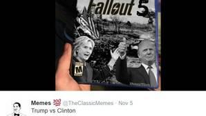 El lado más travieso de las campaña: Los mejores «memes» de Trump y Hillary Clinton