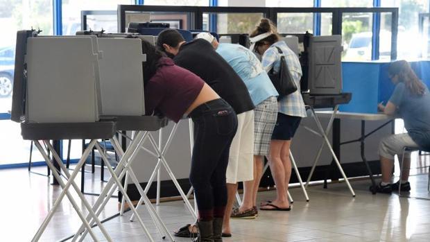 Colegio electoral en Miami, Florida