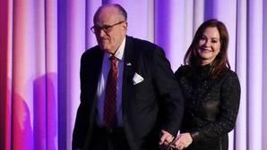 El exalcalde de Nueva York Rudy Giuliani, serio aspirante a entrar en el gabinete de Trump
