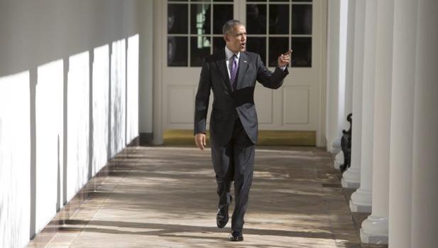 El presidente saliente de Estados Unidos, Barack Obama