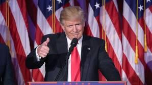 El doble discurso de Trump, antes y después de la elección