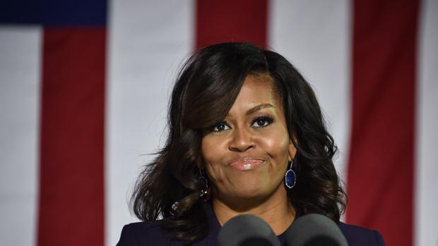 Michelle Obama en un mitin de campaña de Hillary Clinton