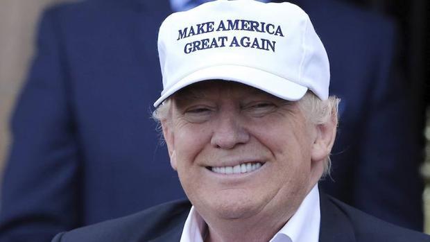 El presidente de Estados Unidos, Donald Trump, durante su visita a Escocia