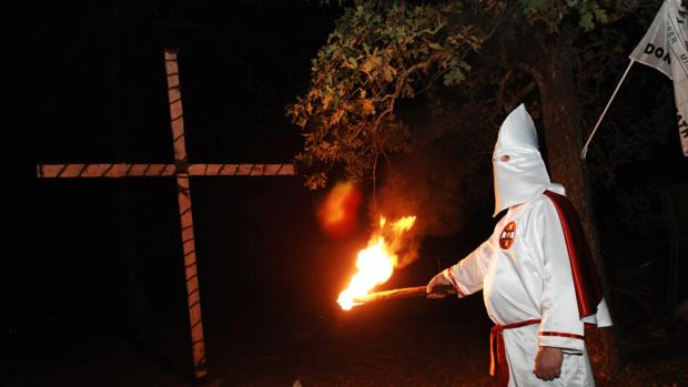 Imagen de archivo de una celebración del Ku Klux Klan