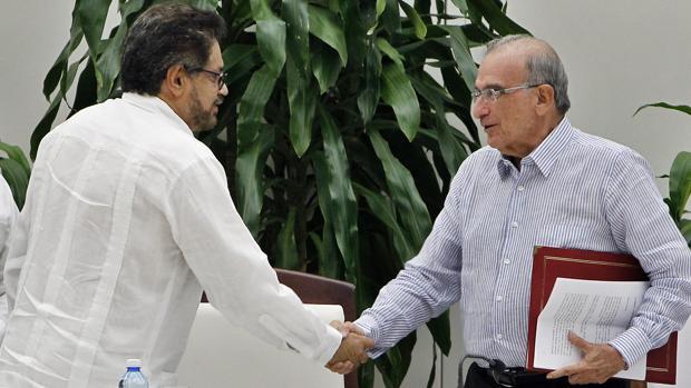 Fotografía cedida por la Presidencia de Colombia, del presidente colombiano, Juan Manuel Santos