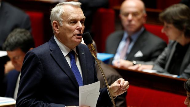 Ministro francés de Exteriores, Jean-Marc Ayrault