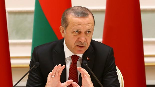 Erdogan, durante una reciente visita a Bielorrusia