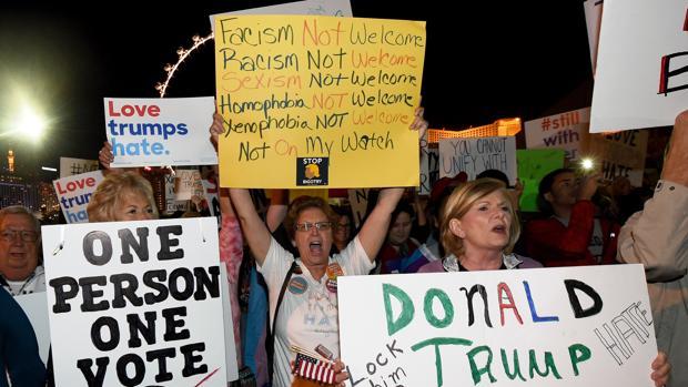 Protestas anti-Trump