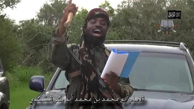 El líder de la secta islamista nigeriana Boko Haram, Abubakar Shekau