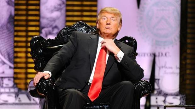 Donald Trump, presidente electo de Estados Unidos, durante su aparición en «Roast», un programa de la cadena Paramount, en 2011