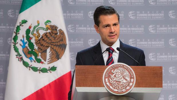 El mandatario mexicano, Enrique Peña Nieto, este martes en la XIV edición de la Cumbre de Negocios en el estado de Puebla, donde habló de la relación que tendrá su Gobierno con el nuevo Ejecutivo estadounidense, liderado por Donald Trump