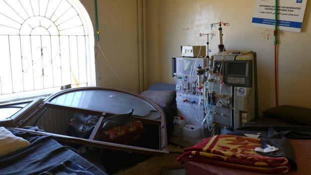 Uno de los hospitales atacados los últimos días