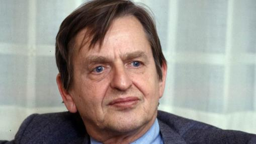 Olof Palme, en 1984